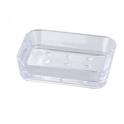 Porte-savon candy transparent