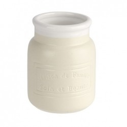 Gobelet maison crème céramique