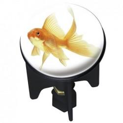 Bouchon d'évier pluggy fish