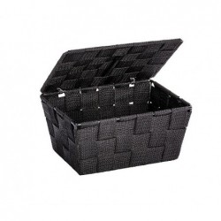Black adria bathroom basket...