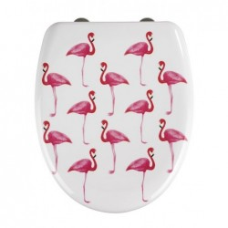 Abattant wc flamant rose...