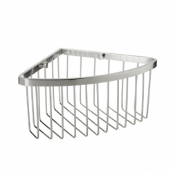 Aluminum corner shelf
