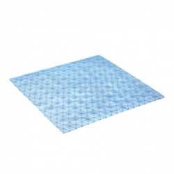 Bath mat 54x54 diamond aqua