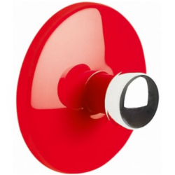 Bowl hook adhesive red