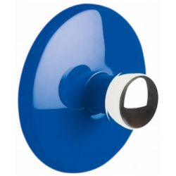 Bowl adhesive hook blue