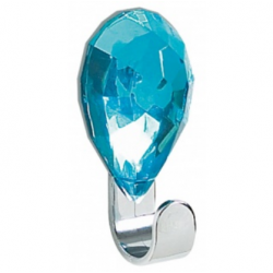 Jewel adhesive hook topaz