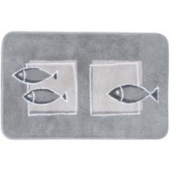 Andros gray bath mat
