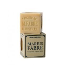 Raw white Marseille soap...
