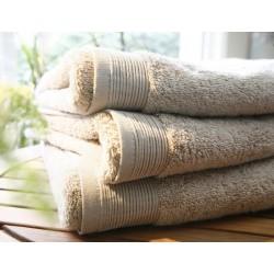 Maxi towel uni sand 55cmx110cm