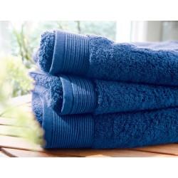 Drap de bain uni bleu royal...
