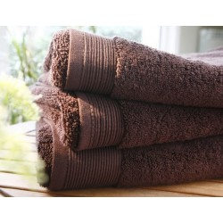 Plain ebony bath towel...