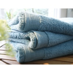 Celadon plain bath towel...