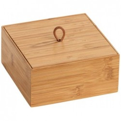 Box with lid m terra, bamboo