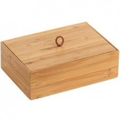 Box with lid l terra, bamboo