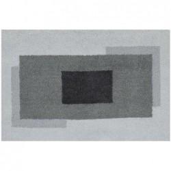 Anela 60x90 polyester gris