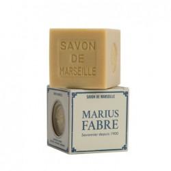 Raw white Marseille soap 400g