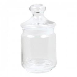 Pot en verre avec couvercle...