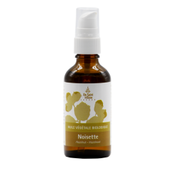 Hazelnut oil - 50ml - Organic