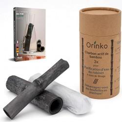 Charbon actif de bambou 3X...