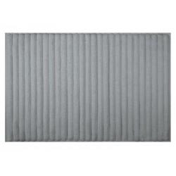 Tashi Bath Mat 50x75 Gray