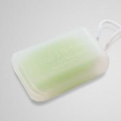 Translucent silicone soap case