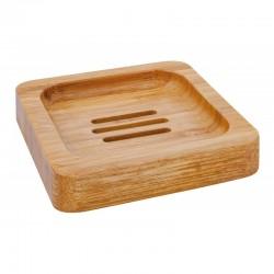 Porte savon en bambou, carré