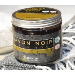Salle d'ô - Savon noir pure olive - 200g - Karawan