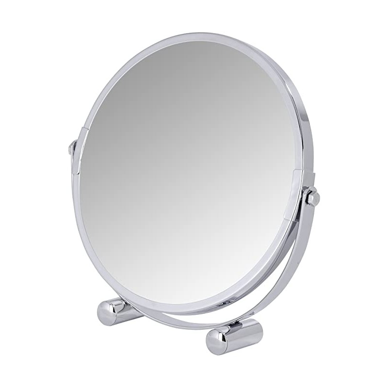 Salle d'ô - Wenko - Miroir grossissant Mera Chromé 5x